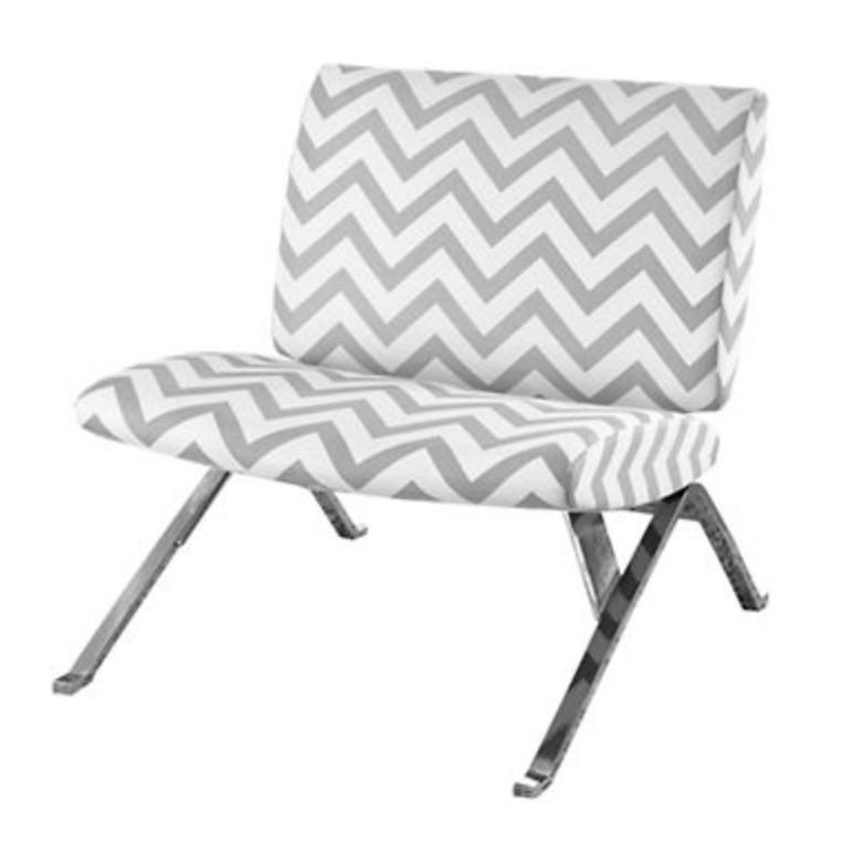 Marvelous Chevron Accent Chair Theyellowbook Wood Chair Design Ideas Theyellowbookinfo